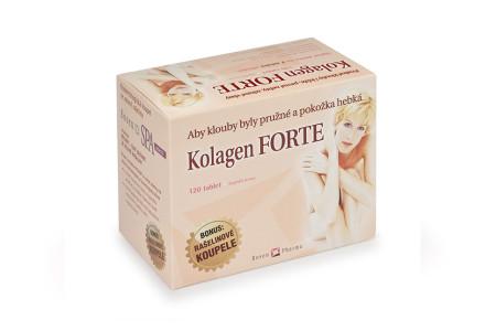 Kolagen FORTE + 2x RosenSpa zelená koupel