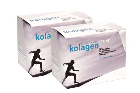 2x Kolagen SPRINT, žvýkací tablety