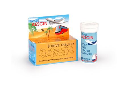 Travel AESCIN šumivé tablety