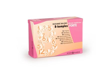 B-komplex FORTE rodinné balení