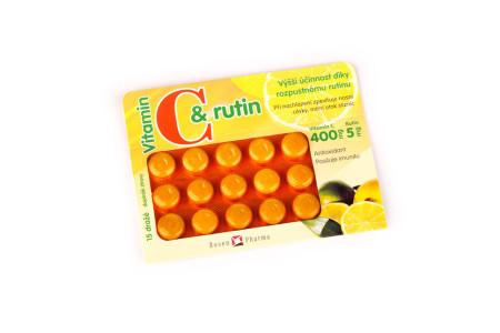 Vitamin C s rutinem